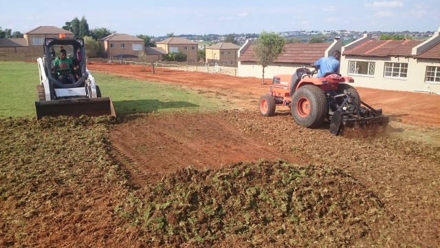 Equestrian Grass Arena Extension – Hope Riding:  Honeydew, Gauteng, South Africa