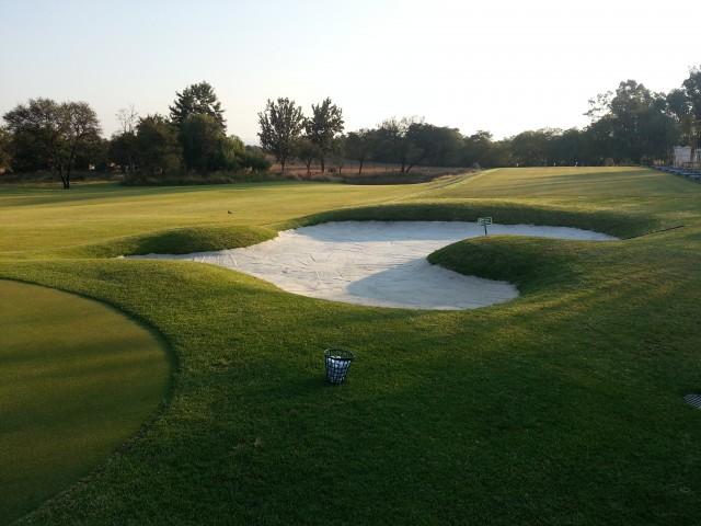 Golf Course Driving Range Construction – AISJ (American International School of Johannesburg): Midrand, Gauteng, South Africa