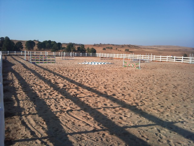 Equestrian Sand Arena Construction – Dunkeld Country and Equestrian Estate: Dullstroom, Mpumalanga, South Africa