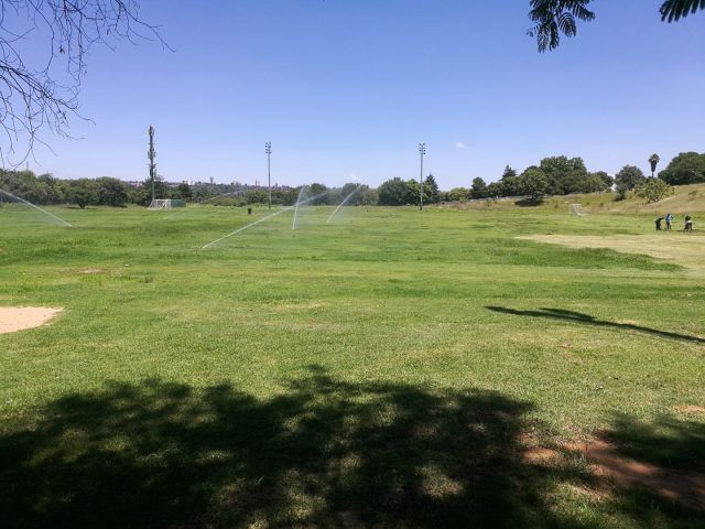 Upgraded Irrigation System Installation at George Lea Park: Sandton Sports Club, Gauteng, South Africa