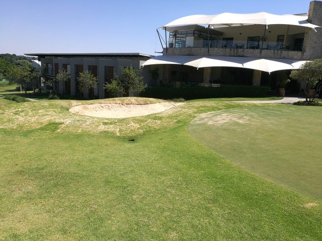 Bunker Construction – Fairway Hotel & Spa: Randpark Golf Club, Firethorn Course, Randburg, Gauteng